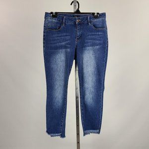 Royalty For Me Mid Rise Distressed Denim Size 10P